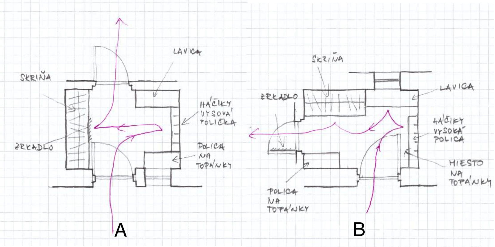 Zariadenie vstupnej haly