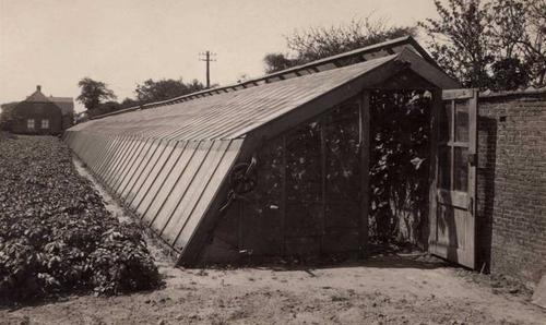 Holandský sklenník z roku 1930