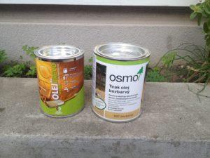 Oleje vhodné na olejovanie záhradného nábytku