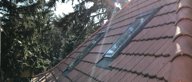 Zatienenie strešného okna protislnečnou fóliou