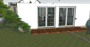 Okno v obývačke 1. pokus